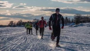 CRYO : traversée du Lac Saint-Jean à la course