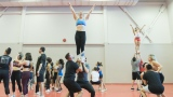 Les auditions de l'équipe de cheerleaders des Alouettes