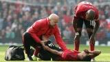 Jesse Lingard se blesse face à Liverpool