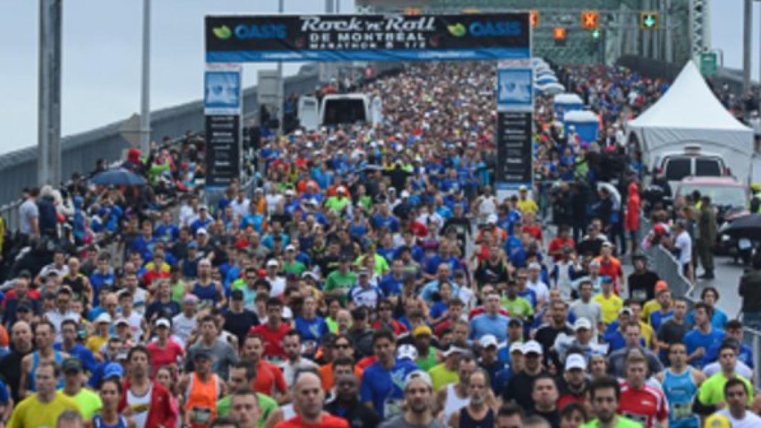Le 42 km annulé en raison de la chaleur — Marathon de Montréal