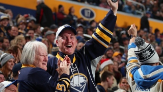 Fans des Sabres au KeyBank Center
