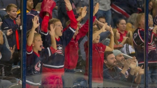 Fans des Blue Jackets