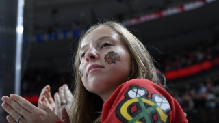 Fan des Blackhawks