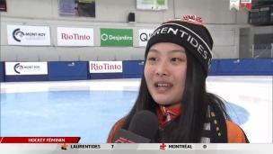 Aysihia Miao Qi a choisi le Québec pour le patinage de vitesse