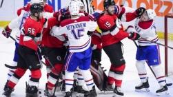 Match Canadiens-Sénateurs