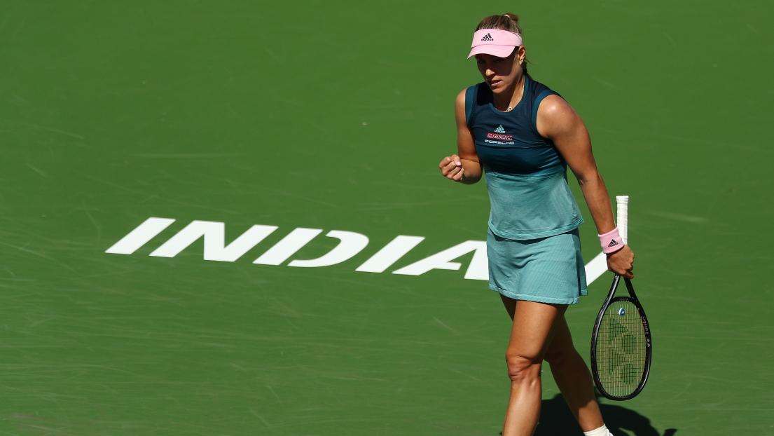 Tennis: Kerber bousculée mais passe en huitièmes à Indian Wells