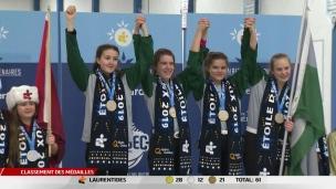 Jeux du Québec : le Saguenay-Lac-Saint-Jean et la Côte-Nord en or au curling