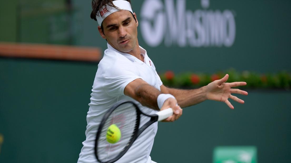 Wawrinka souffre, mais se rapproche de Federer