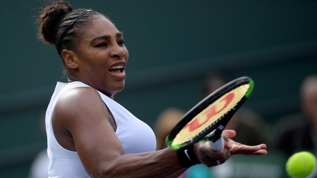 WTA : l'Américaine Serena Williams contrainte à l'abandon à Indian Wells