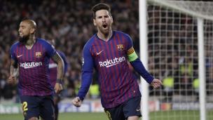 FC Barcelone 5 - Lyon 1