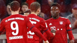 Alphonso Davies marque avec le Bayern