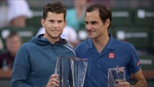 Thiem coiffe Federer en finale