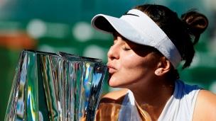 Top-5: Coups de Bianca Andreescu à Indian Wells