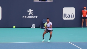 Auger-Aliassime au 2e tour des qualifications à Miami