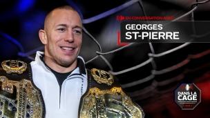 Dans la cage : entrevue avec Georges St-Pierre