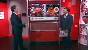 L'adversaire : Canadiens-Flyers