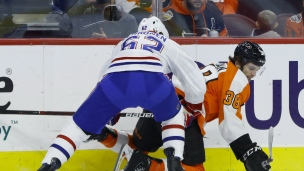 Canadiens 3 - Flyers 1