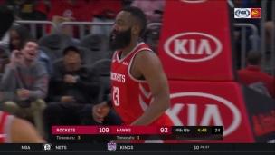 Rockets 121 - Hawks 105