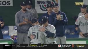 Une ovation debout pour Ichiro au Japon