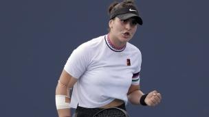 Remontée incroyable de Bianca Andreescu