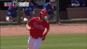 Blue Jays 6 - Phillies 13