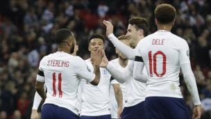 Angleterre 5 - République tchèque 0