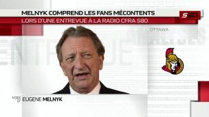 Melnyk critique la communication avec les partisans