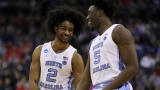 Coby White et Nassir Little