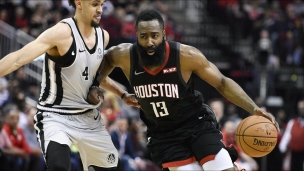 Spurs 105 - Rockets 111