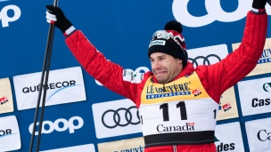 Une 2e place et des larmes pour Harvey à Québec