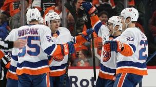Islanders 4 - Flyers 2