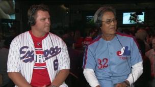 Dennis Martinez et Brad Wilkerson dans l'Antichambre