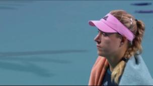 Kerber traite Andreescu de « drama queen »