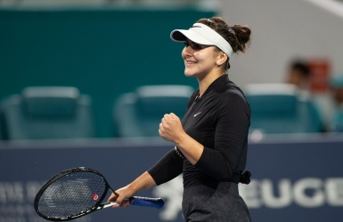Andreescu impatiente pour Roland-Garros