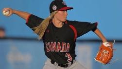 Vanessa a participé à 11 championnats canadiens de Baseball.