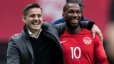 John Herdman et David Junior Hoilett