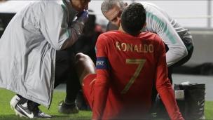 Ronaldo quitte le match du Portugal