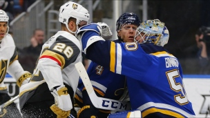 Golden Knights 1 - Blues 3