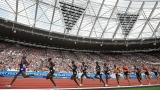 Une course de 5000 mètres de la Diamond League