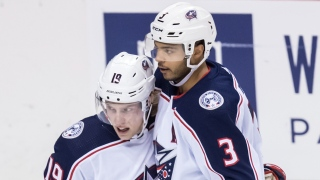 Ryan Dzingel et Seth Jones