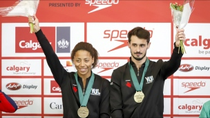 Abel ajoute deux médailles d'or à sa collection