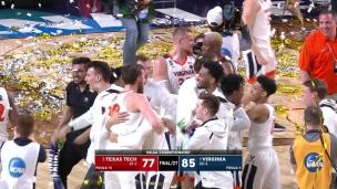 3, 2, 1... Virginia célèbre un 1er championnat national!