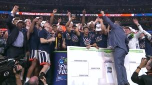 Virginia soulève son 1er trophée de championnat national