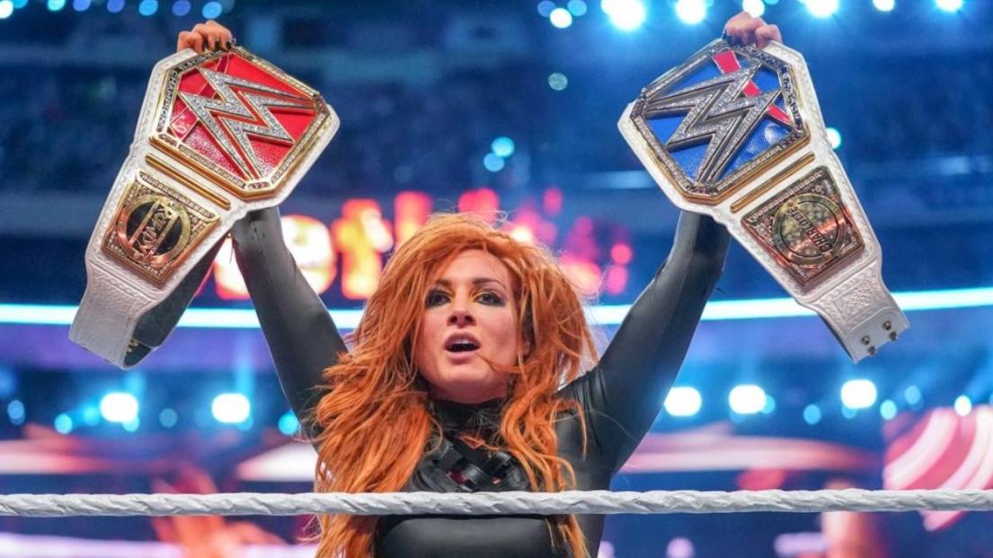 Becky Lynch à Wrestlemania 35