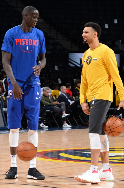 Thon Maker et Jamal Murray