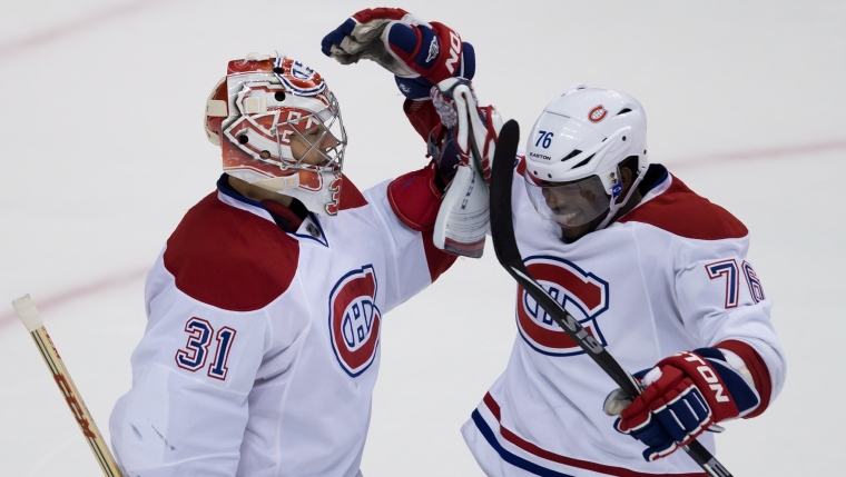 Carey Price et P.K. Subban
