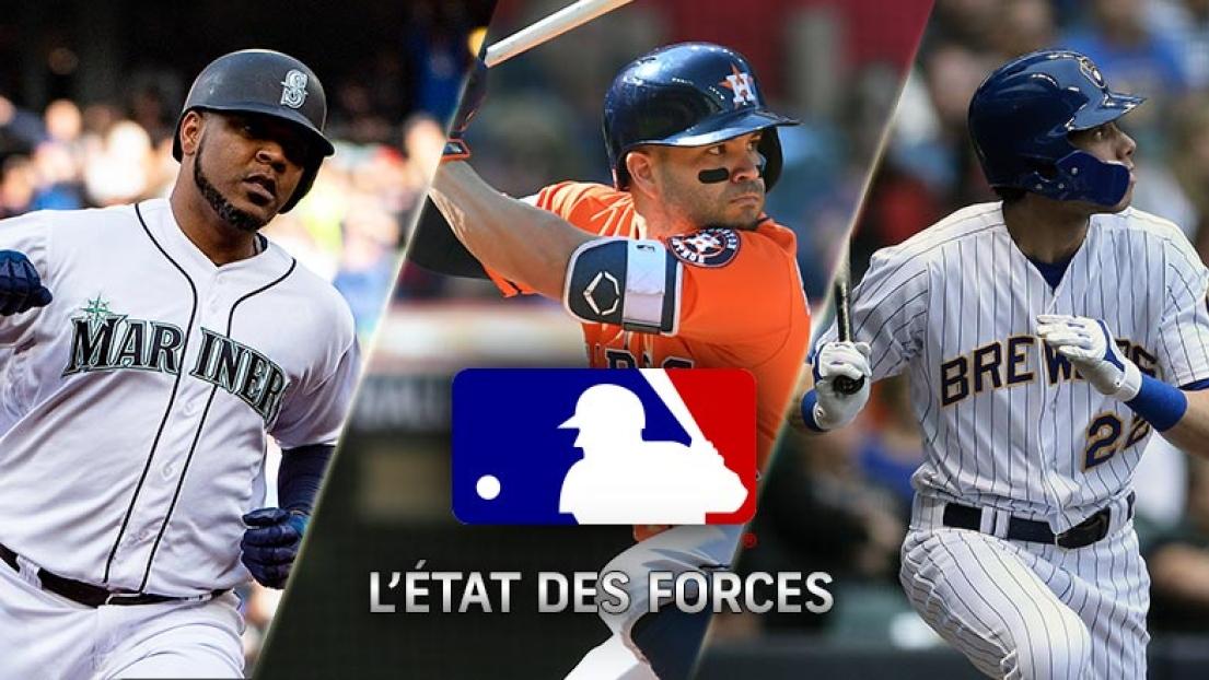 État des forces MLB 15 avril 2019