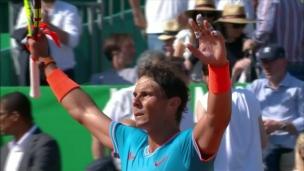 Nadal s'amuse toujours sur la terre battue