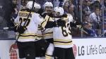 Les Bruins rebondissent avec aplomb