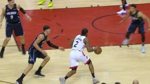 Les Raptors rassurés de la victoire convaincante